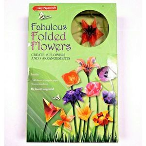 Other - Folded Flowers Craft Hobby Art Origami